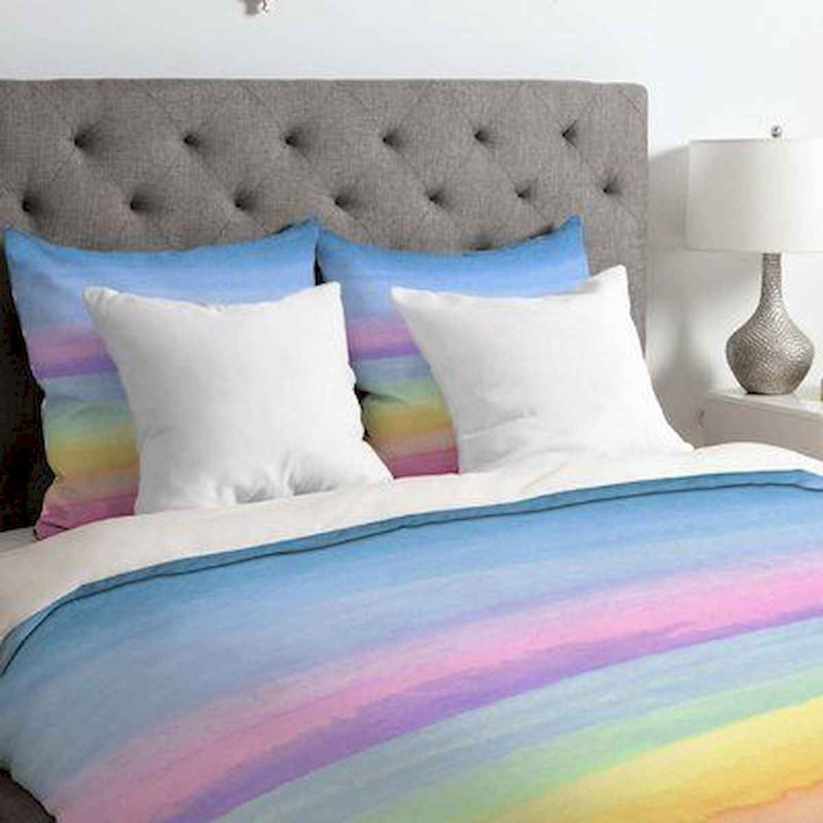 70+ Amazing Colorful Bedroom Decor Ideas And Remodel for Summer Project (62)