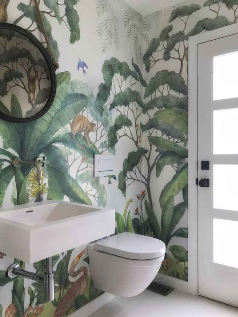 70+ Cool Colorful Bathroom Decor Ideas And Remodel for Summer Project (14)
