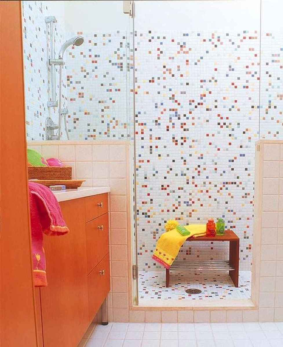 70+ Cool Colorful Bathroom Decor Ideas And Remodel for Summer Project (21)