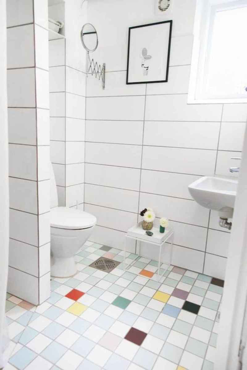 70+ Cool Colorful Bathroom Decor Ideas And Remodel for Summer Project (31)