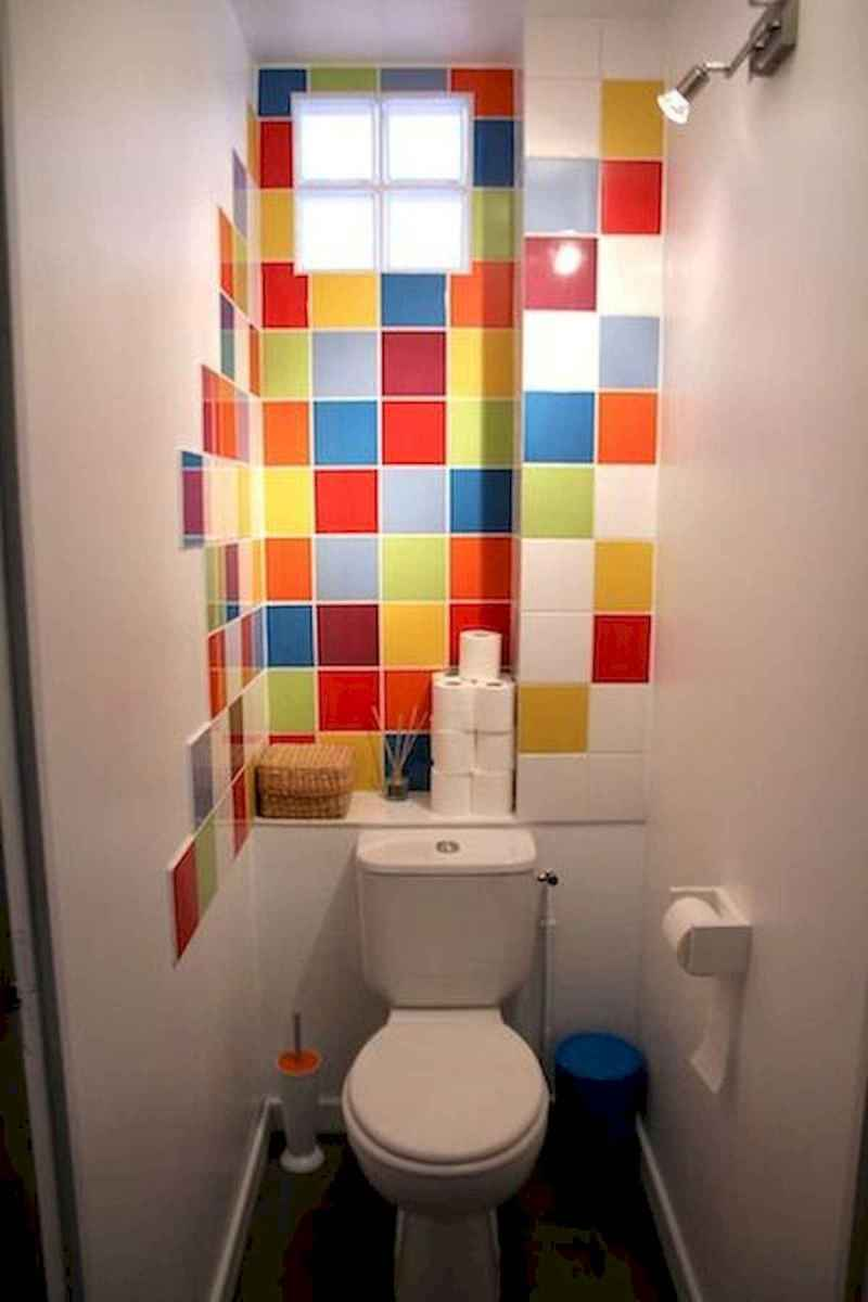 70+ Cool Colorful Bathroom Decor Ideas And Remodel for Summer Project (34)