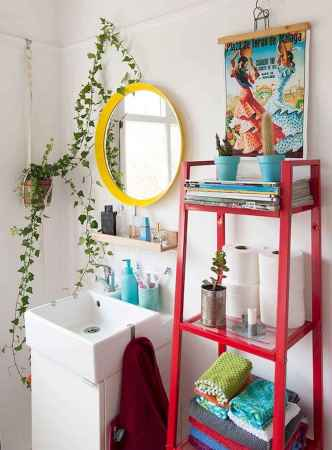 70+ Cool Colorful Bathroom Decor Ideas And Remodel for Summer Project (41)