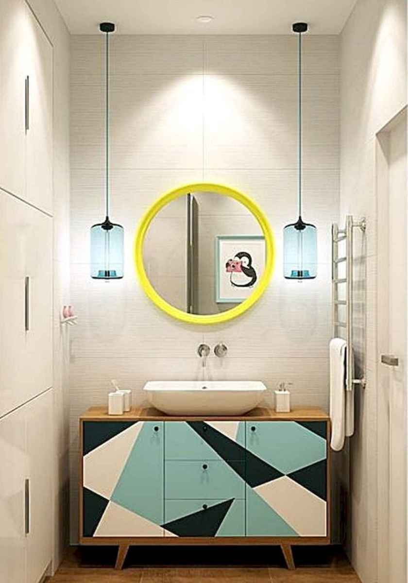 70+ Cool Colorful Bathroom Decor Ideas And Remodel for Summer Project (46)