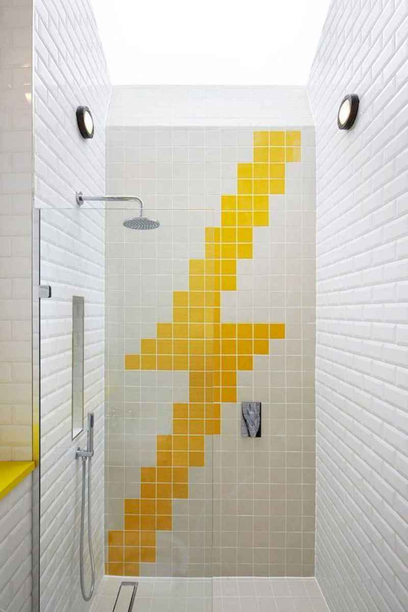 70+ Cool Colorful Bathroom Decor Ideas And Remodel for Summer Project (48)