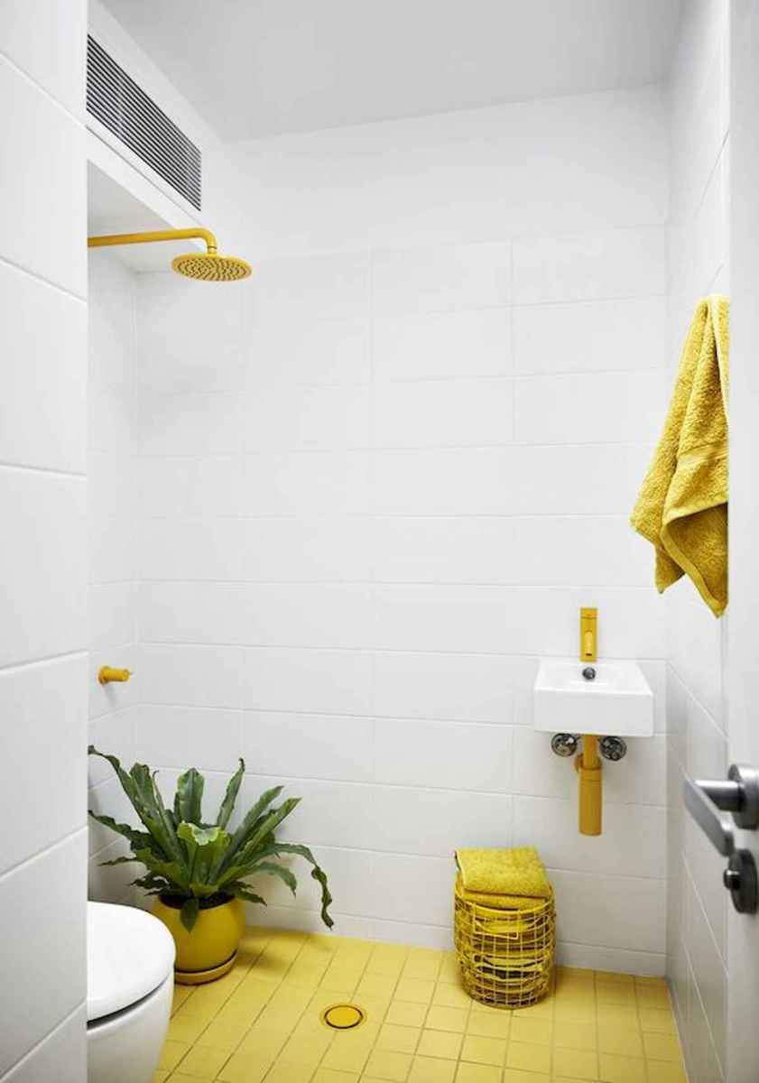 70+ Cool Colorful Bathroom Decor Ideas And Remodel for Summer Project (52)