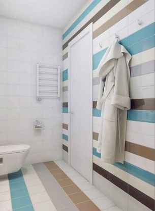 70+ Cool Colorful Bathroom Decor Ideas And Remodel for Summer Project (6)