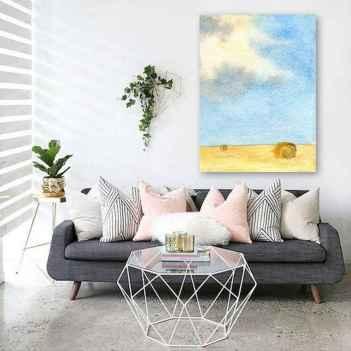 70 Fantastic Summer Living Room Decor Ideas (20)