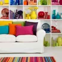 70 Fantastic Summer Living Room Decor Ideas (43)