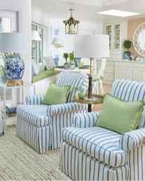70 Fantastic Summer Living Room Decor Ideas (47)