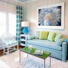 70 Fantastic Summer Living Room Decor Ideas (59)