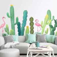 70 Fantastic Summer Living Room Decor Ideas (60)