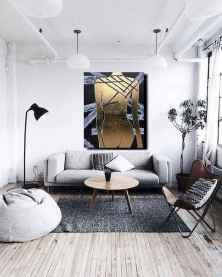 70 Stunning Grey White Black Living Room Decor Ideas And Remodel (5)
