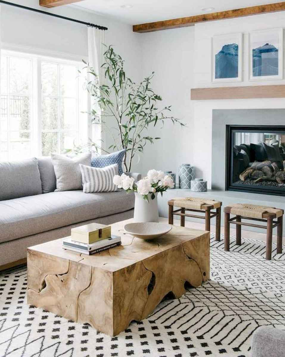 70 Stunning Grey White Black Living Room Decor Ideas And Remodel (6)