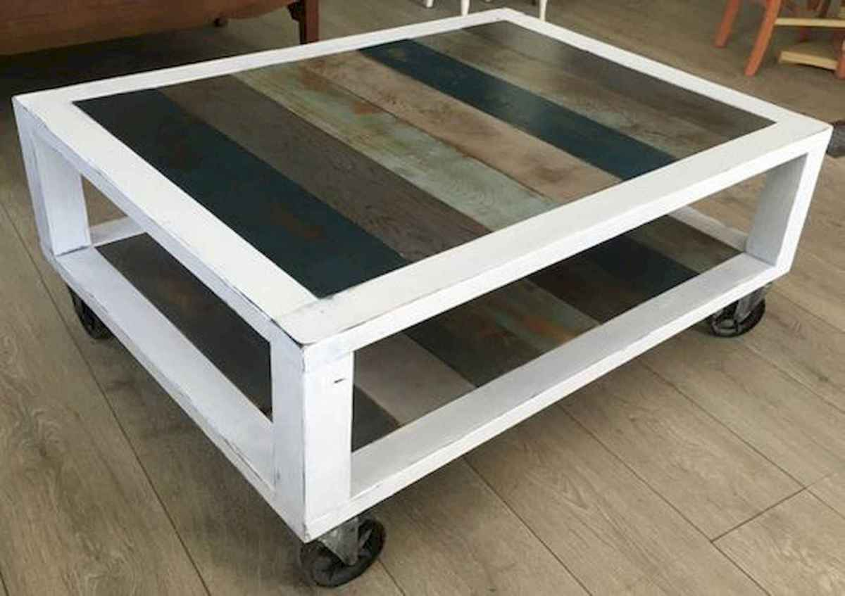 70 Suprising DIY Projects Mini Pallet Coffee Table Design Ideas (20)