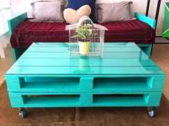 70 Suprising DIY Projects Mini Pallet Coffee Table Design Ideas (54)