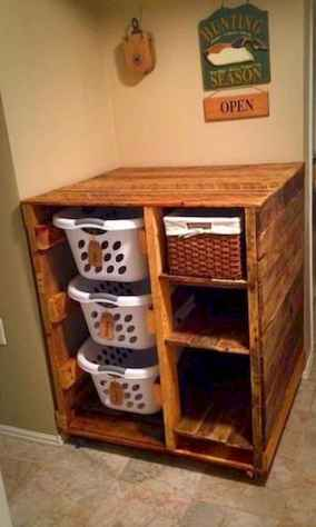 80 Awesome DIY Projects Pallet Racks Design Ideas (65)