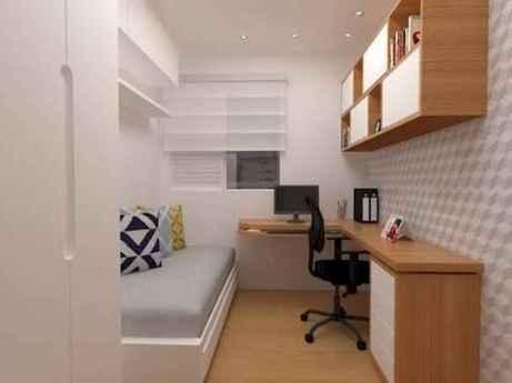 80 Fantastic Small Apartment Bedroom College Design Ideas and Decor (10)