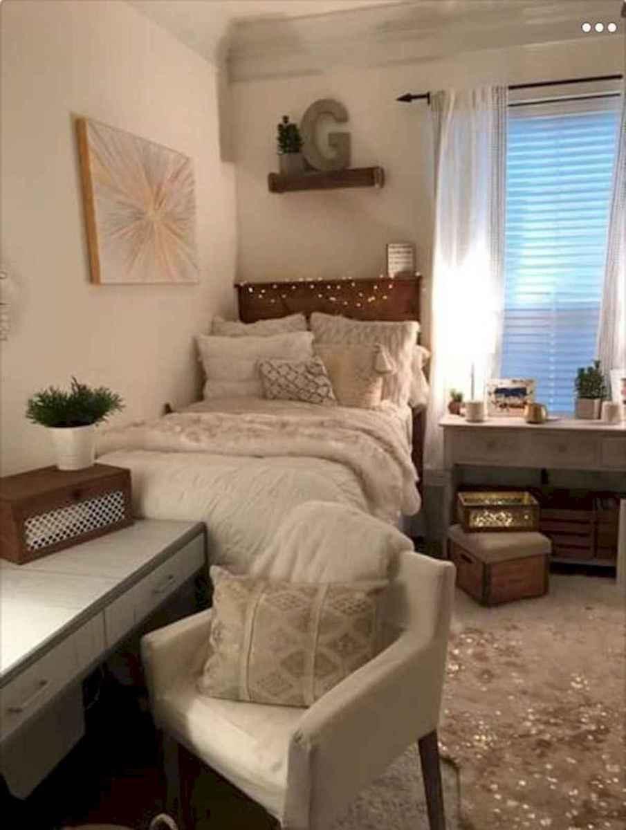 80 Fantastic Small Apartment Bedroom College Design Ideas and Decor (25)