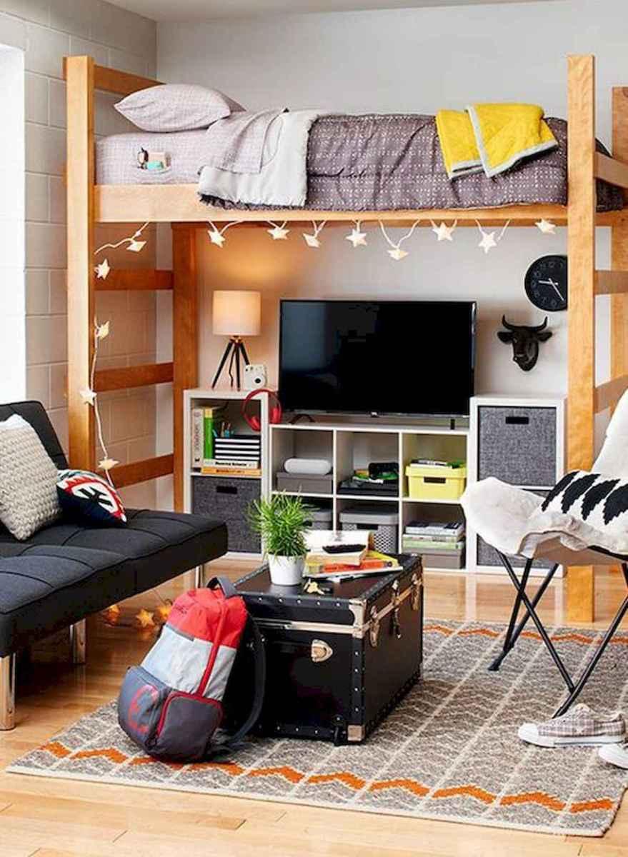 80 Fantastic Small Apartment Bedroom College Design Ideas and Decor (38)