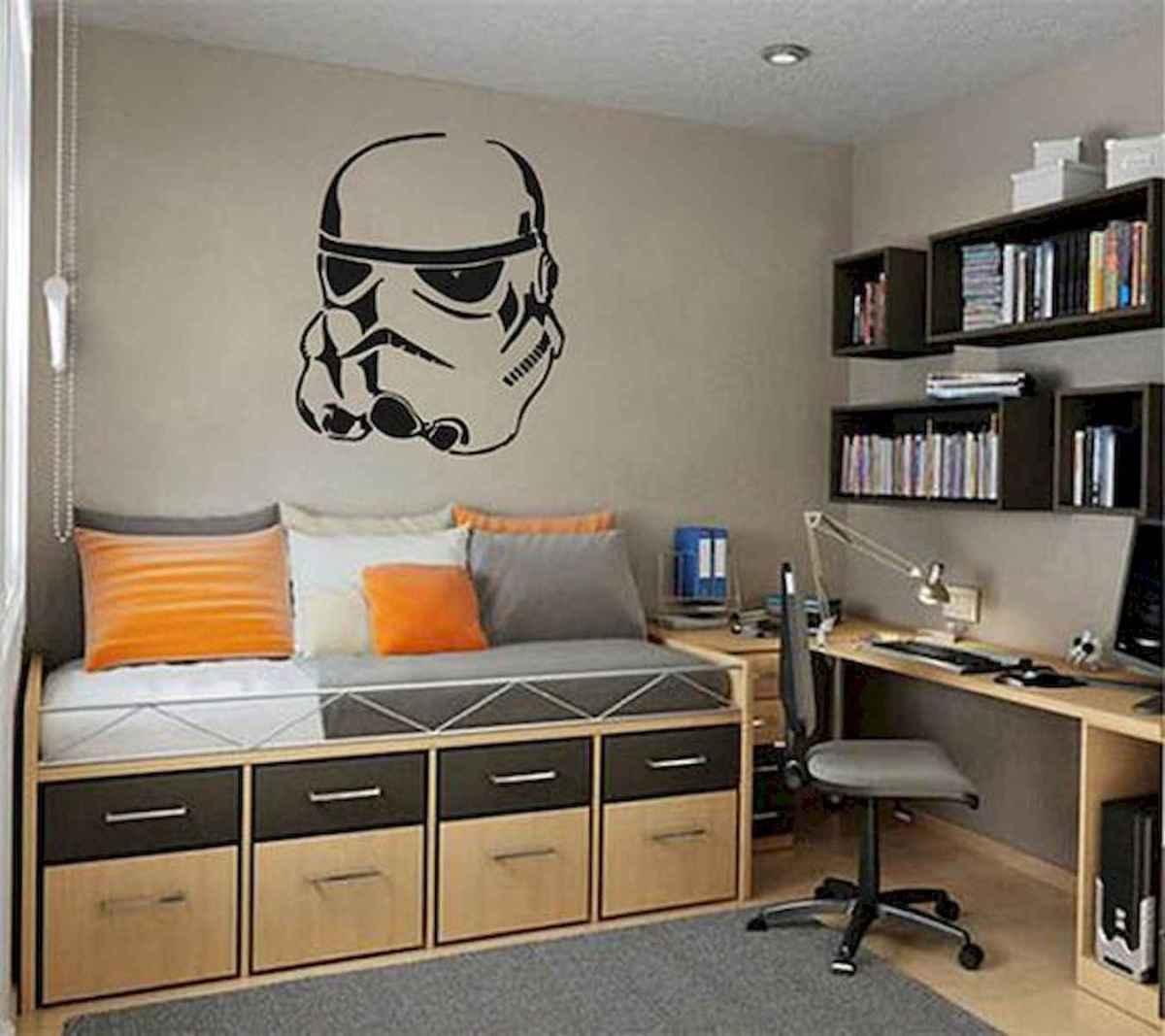 80 Fantastic Small Apartment Bedroom College Design Ideas and Decor (39)