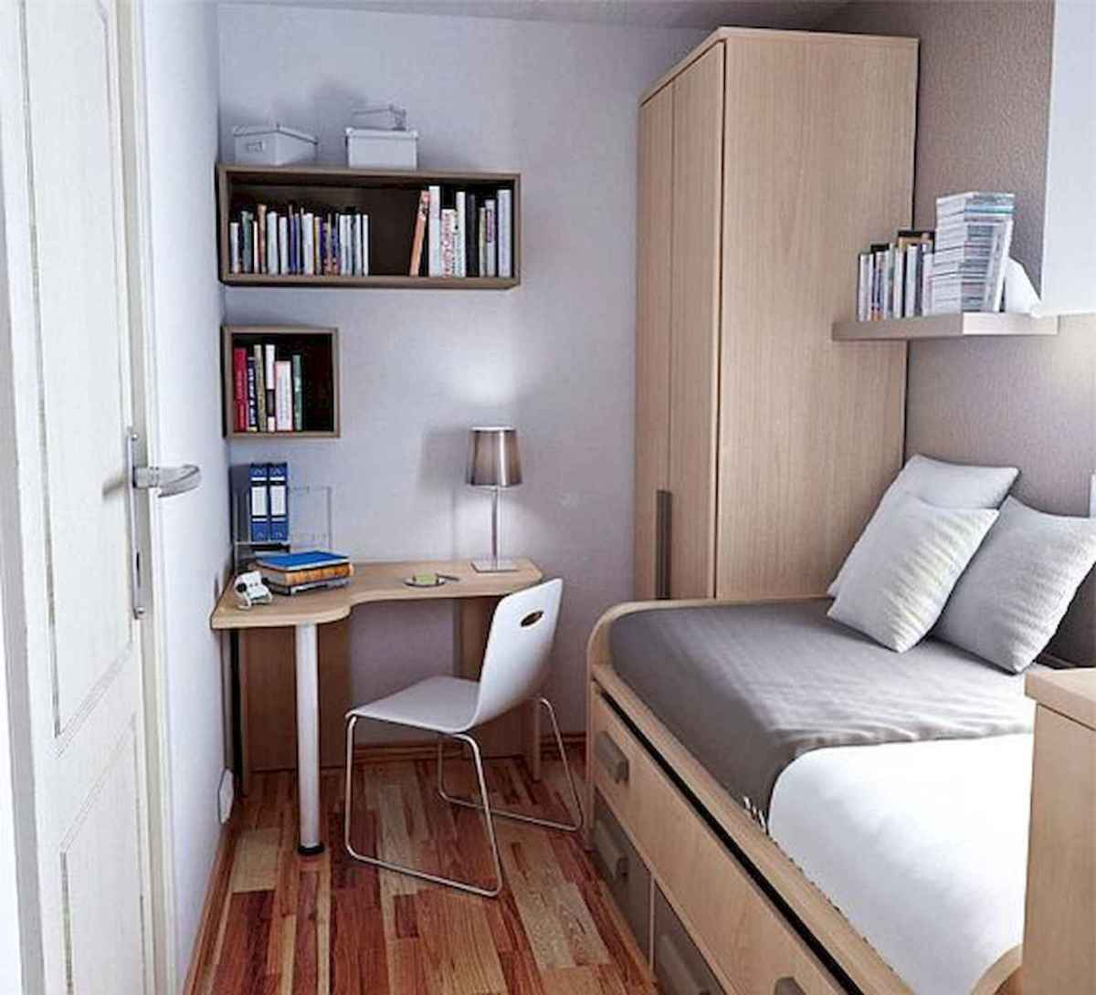 80 Fantastic Small Apartment Bedroom College Design Ideas and Decor (49)