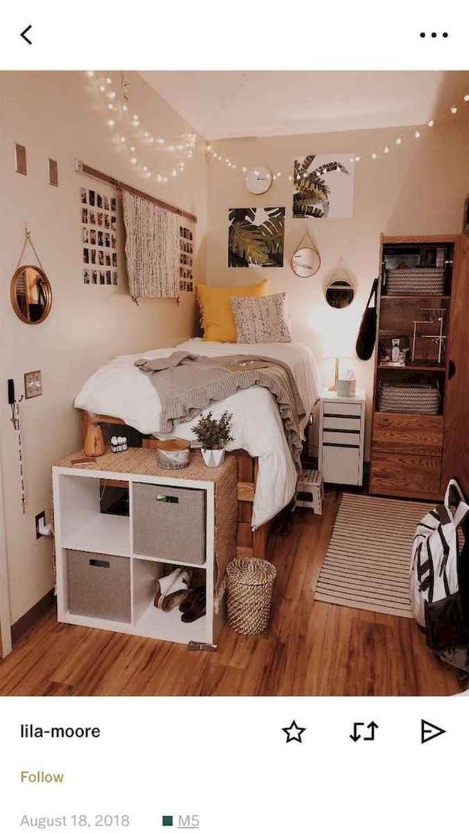 80 Fantastic Small Apartment Bedroom College Design Ideas and Decor (69)