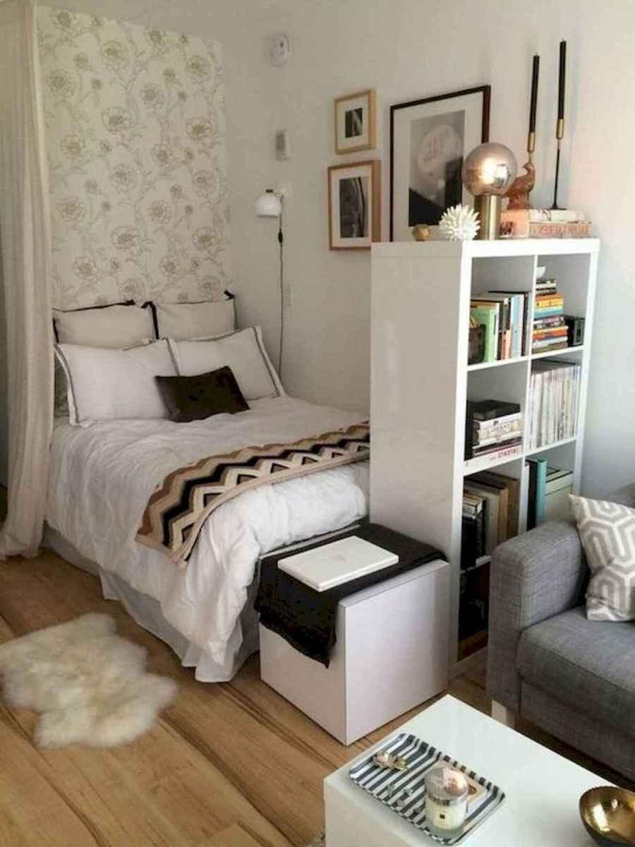 80 Fantastic Small Apartment Bedroom College Design Ideas and Decor (77)