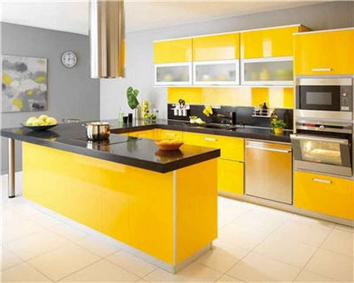 80+ Favorite Colorful Kitchen Decor Ideas And Remodel for Summer Project (10)
