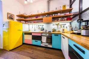 80+ Favorite Colorful Kitchen Decor Ideas And Remodel for Summer Project (14)