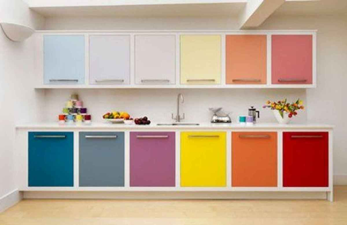80+ Favorite Colorful Kitchen Decor Ideas And Remodel for Summer Project (23)