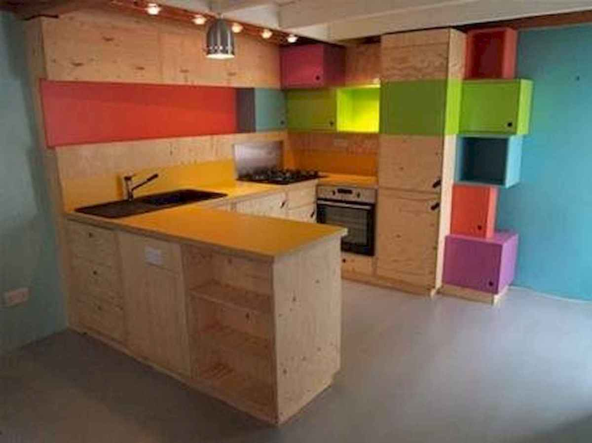 80+ Favorite Colorful Kitchen Decor Ideas And Remodel for Summer Project (34)