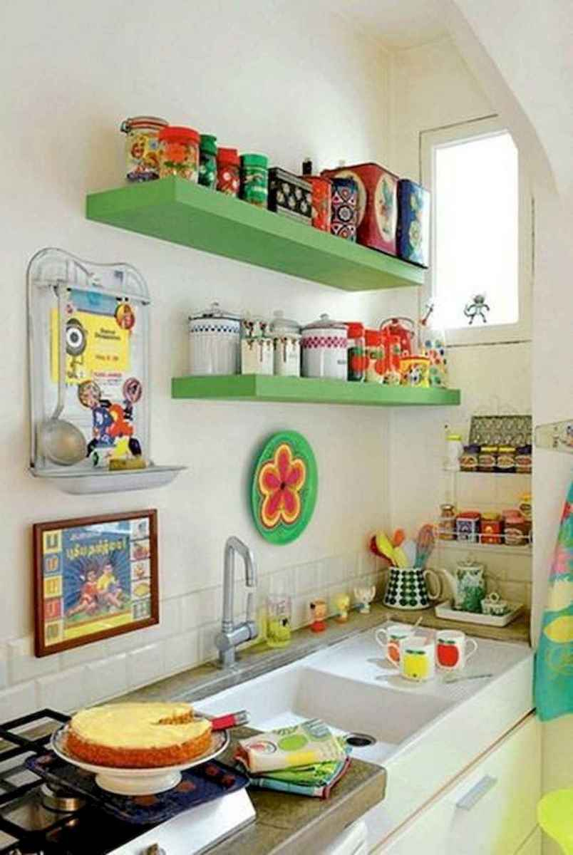 80+ Favorite Colorful Kitchen Decor Ideas And Remodel for Summer Project (37)