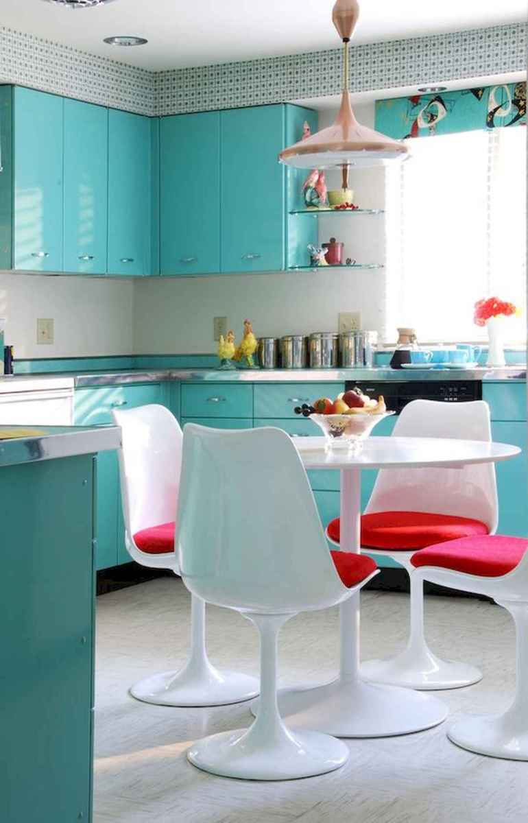 80+ Favorite Colorful Kitchen Decor Ideas And Remodel for Summer Project (46)
