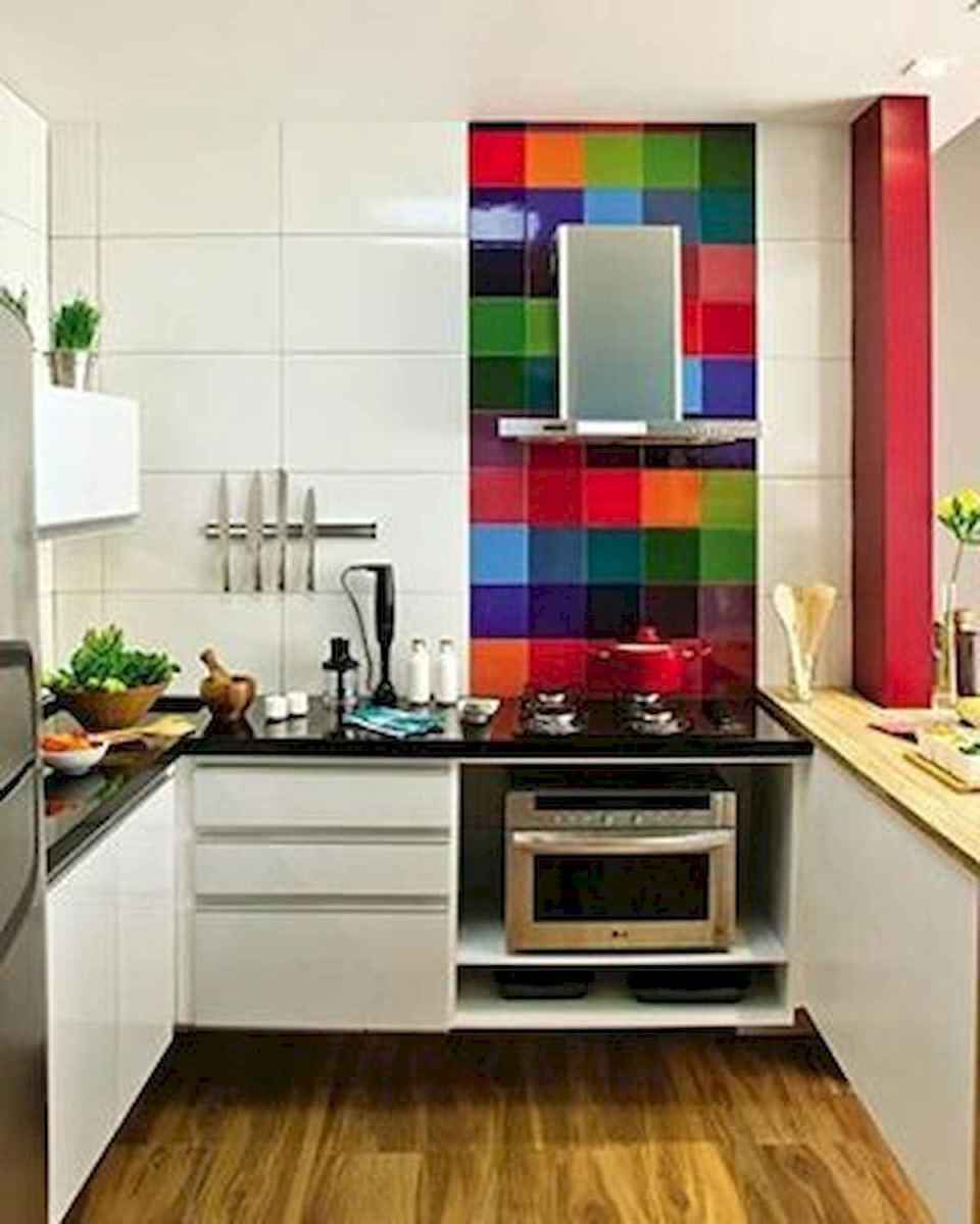 80+ Favorite Colorful Kitchen Decor Ideas And Remodel for Summer Project (48)
