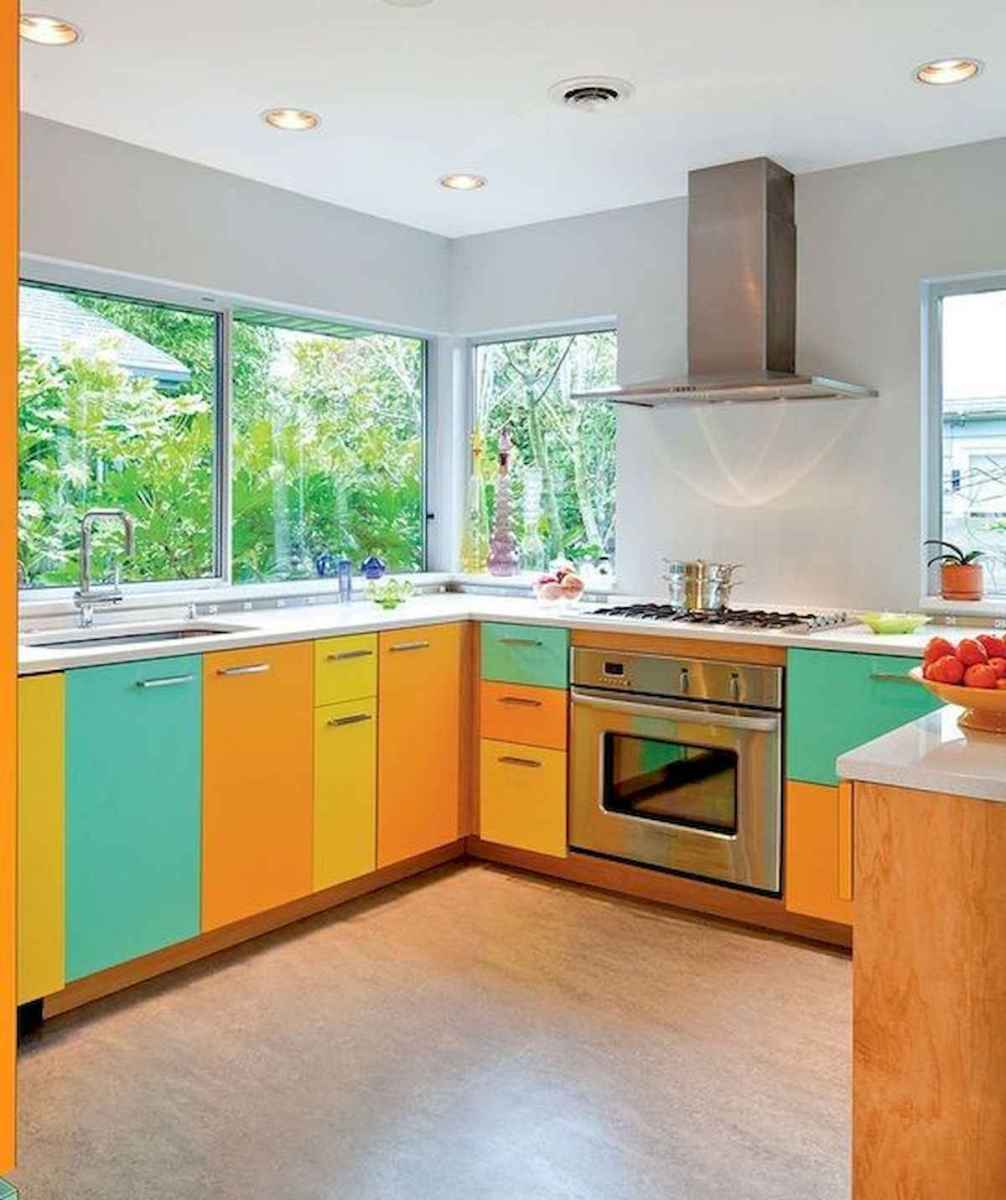 80+ Favorite Colorful Kitchen Decor Ideas And Remodel for Summer Project (5)