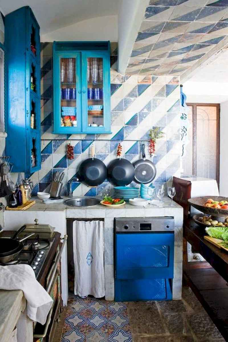 80+ Favorite Colorful Kitchen Decor Ideas And Remodel for Summer Project (51)