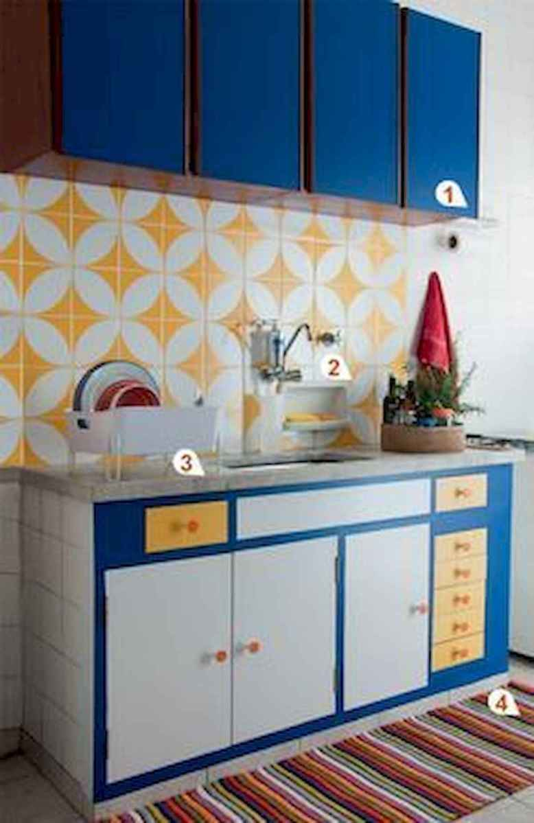 80+ Favorite Colorful Kitchen Decor Ideas And Remodel for Summer Project (55)