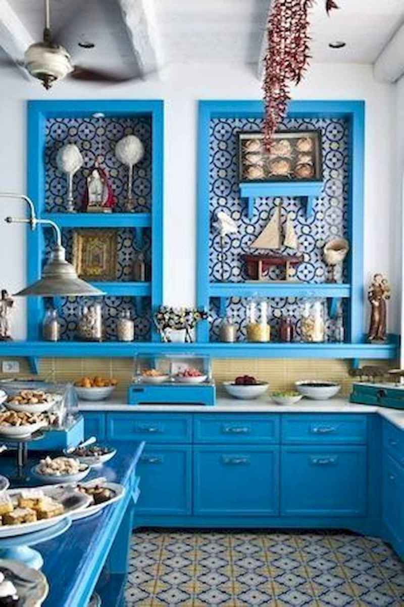 80+ Favorite Colorful Kitchen Decor Ideas And Remodel for Summer Project (57)