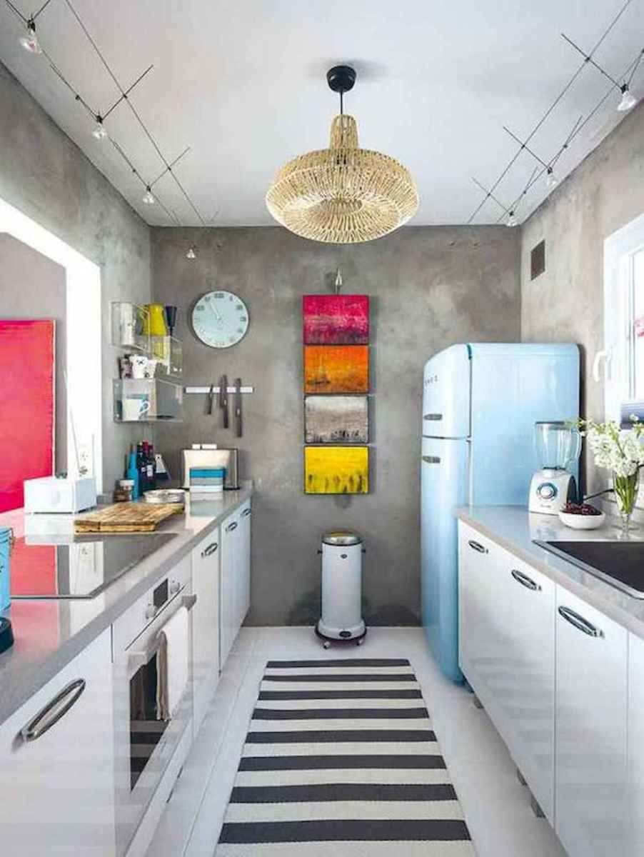 80+ Favorite Colorful Kitchen Decor Ideas And Remodel for Summer Project (65)