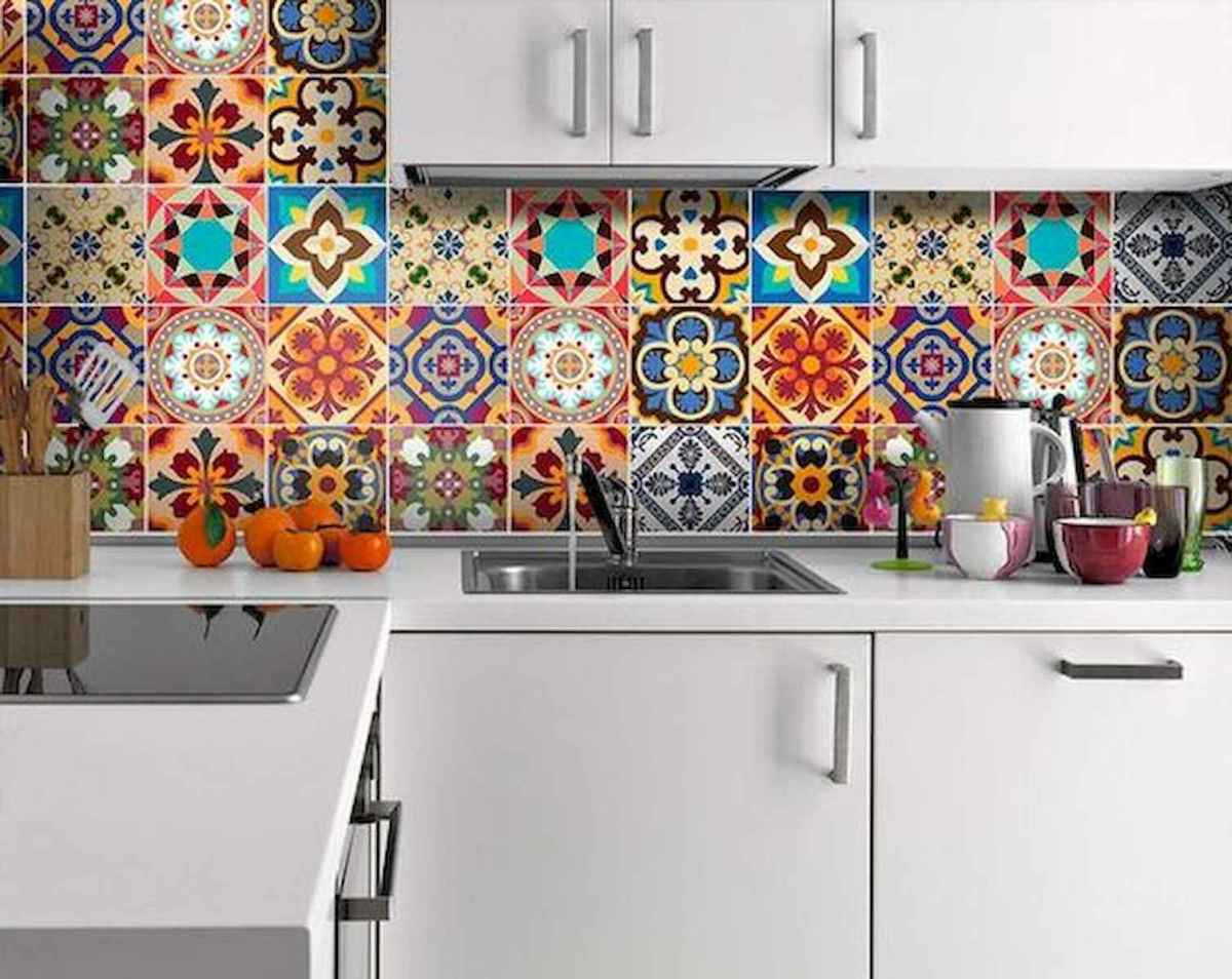 80+ Favorite Colorful Kitchen Decor Ideas And Remodel for Summer Project (7)