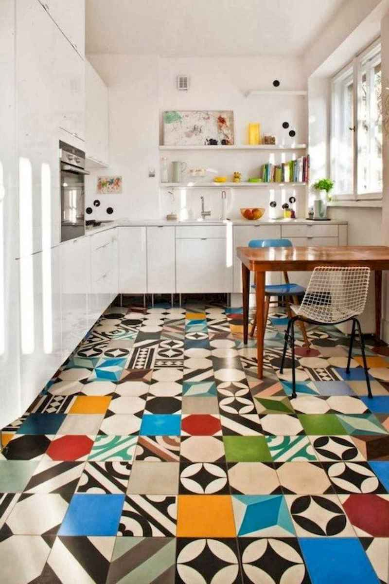 80+ Favorite Colorful Kitchen Decor Ideas And Remodel for Summer Project (71)