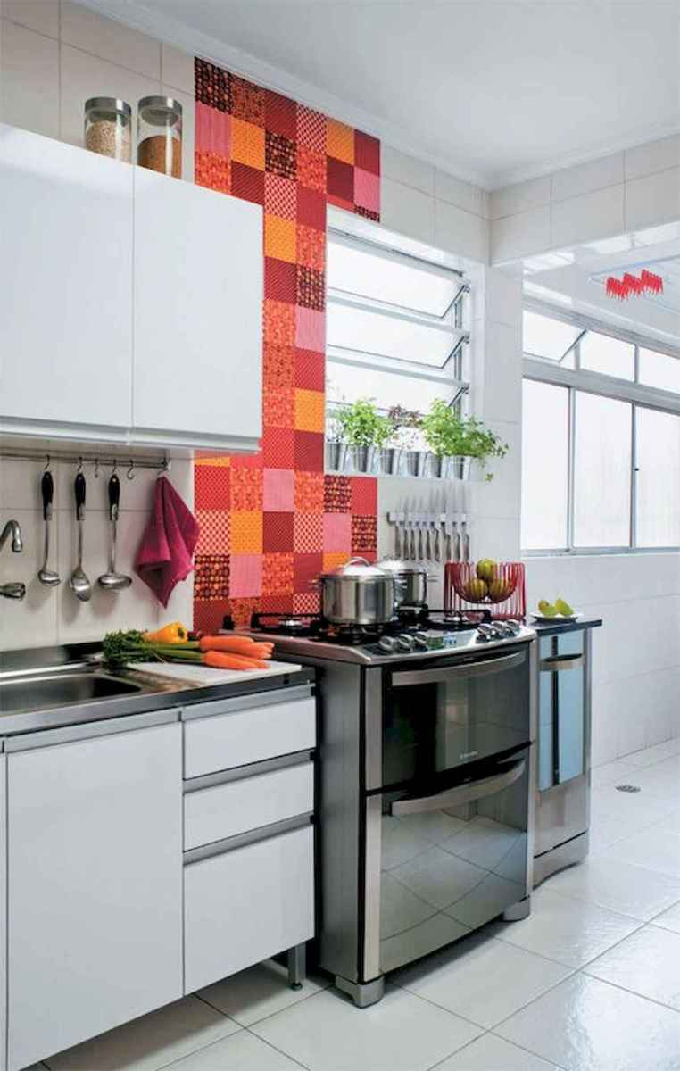 80+ Favorite Colorful Kitchen Decor Ideas And Remodel for Summer Project (75)