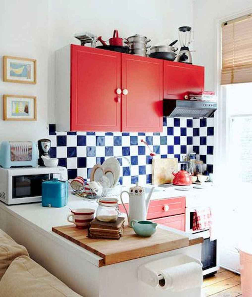 80+ Favorite Colorful Kitchen Decor Ideas And Remodel for Summer Project (76)