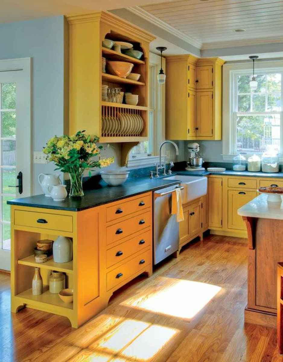 80+ Favorite Colorful Kitchen Decor Ideas And Remodel for Summer Project (82)