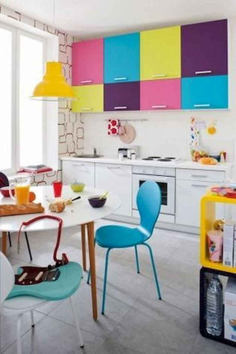 80+ Favorite Colorful Kitchen Decor Ideas And Remodel for Summer Project (9)