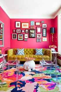 80+ Stunning Colorful Living Room Decor Ideas And Remodel for Summer Project (16)