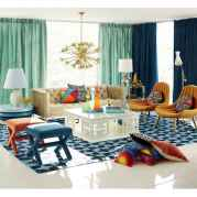 80+ Stunning Colorful Living Room Decor Ideas And Remodel for Summer Project (19)