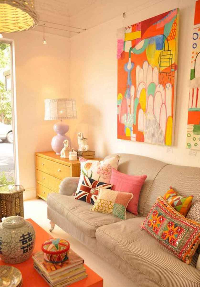 80+ Stunning Colorful Living Room Decor Ideas And Remodel for Summer Project (23)