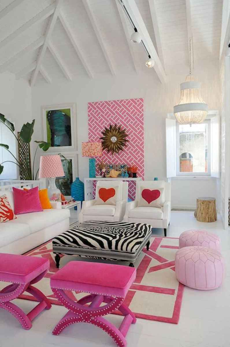 80+ Stunning Colorful Living Room Decor Ideas And Remodel for Summer Project (30)
