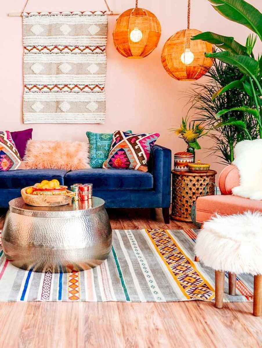 80+ Stunning Colorful Living Room Decor Ideas And Remodel for Summer Project (39)